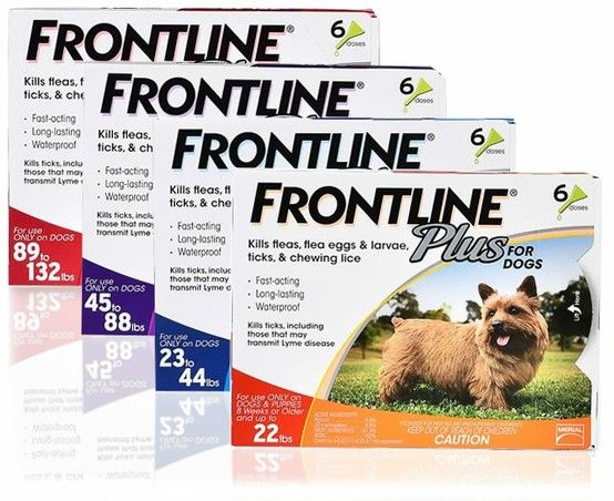 Frontline Plus For Dogs Is The Most Complete Spot On Flea Tick Protection Available For Your Dog Flea And Tick Tick Control For Dogs Frontline Plus For Dogs