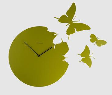 Reloj de mariposas