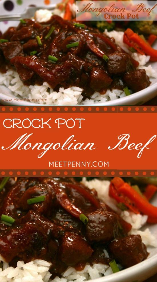 Crock Pot Mongolian Beef - Meet Penny