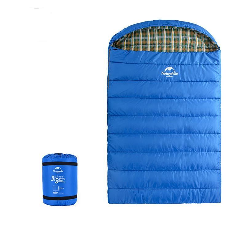 Naturehike Outdoor Travel Three Person Sleeping Bag Winter Camping Family