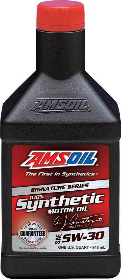 Amsoil 100 Synthetic 5w 30 Motor Oil Asl Our Signature Series