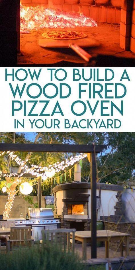 DIY Pizza Oven #sustainability | Backyard pizza oven