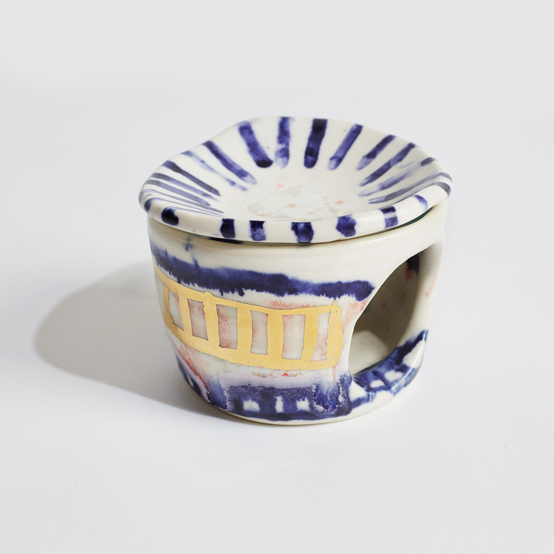 Jessilla rogers oil burner oil burners pottery
