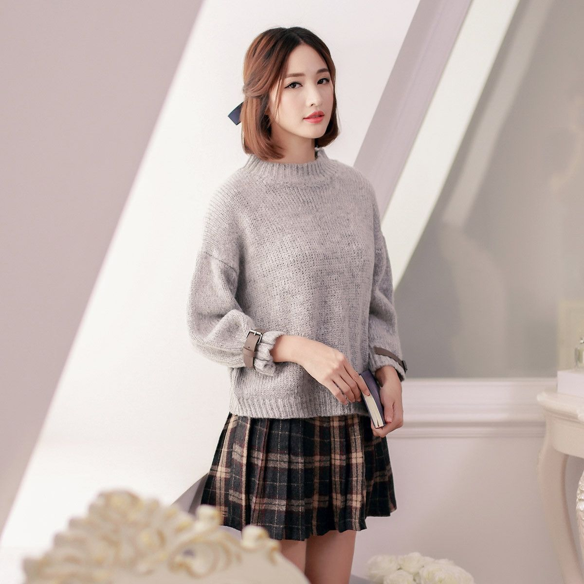 Japanese Style Crew Neck Bat Sleeve Sweater Size Chart My Style Fashion