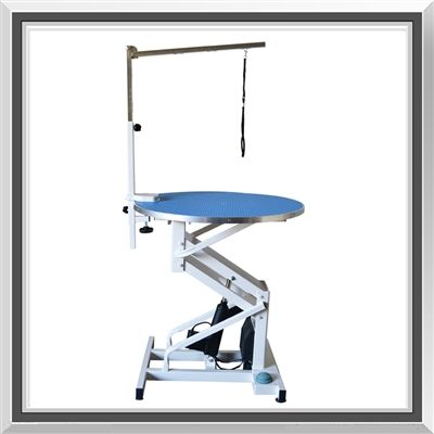 Flying Pig Z Lift Round Dog Pet Electric Grooming Table Wellness Design Dog Washing Station Flying Pig Grooming
