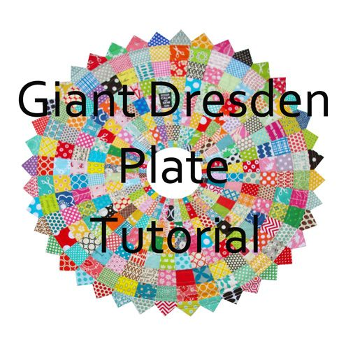 Red Pepper Quilts: Giant Scrappy Dresden Plate Block and Tutorial-- Darn it all @tdezwaanstudio now I really want to make this too!