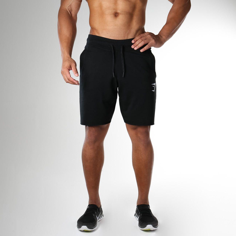 jogger shorts black