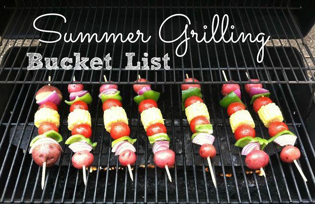 Mendez Manor : Food: Summer Grilling Bucket List