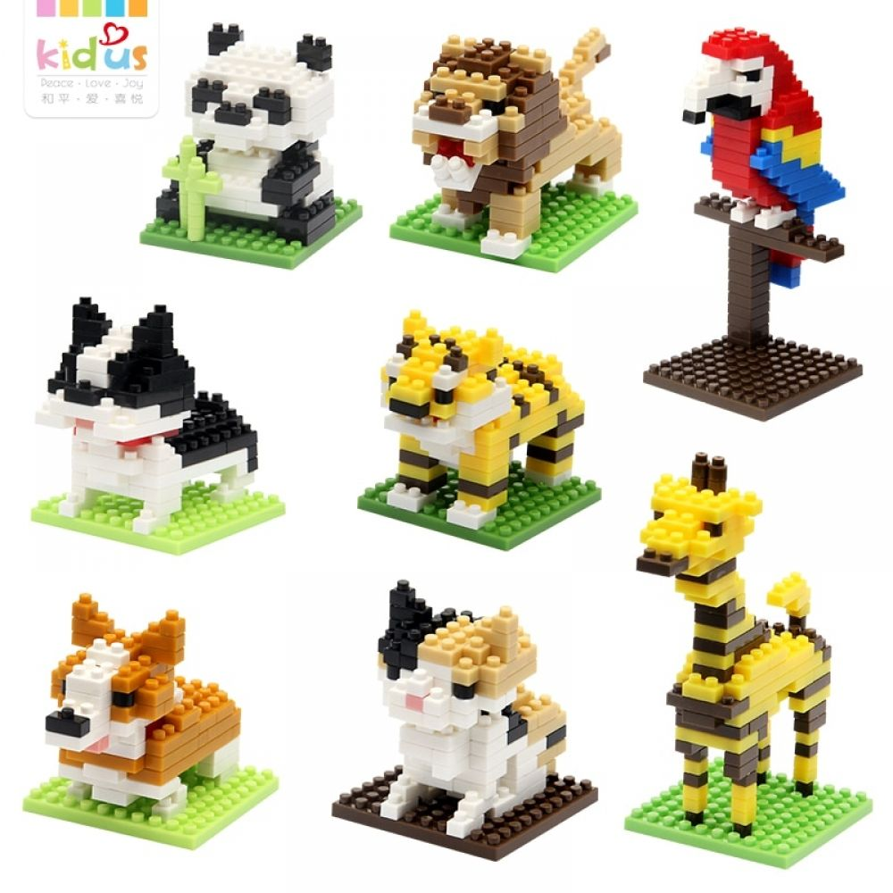 Build /& Play Super Mario Dragon Kids DIY Micro Building Nano Blocks Toys,Gift!