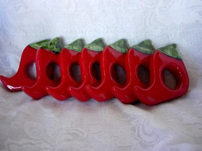 Napkin Rings For The Well Dressed Table Peperoni