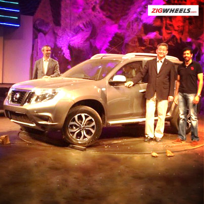 The Nissan Terrano was unveiled amidst high drama on stage