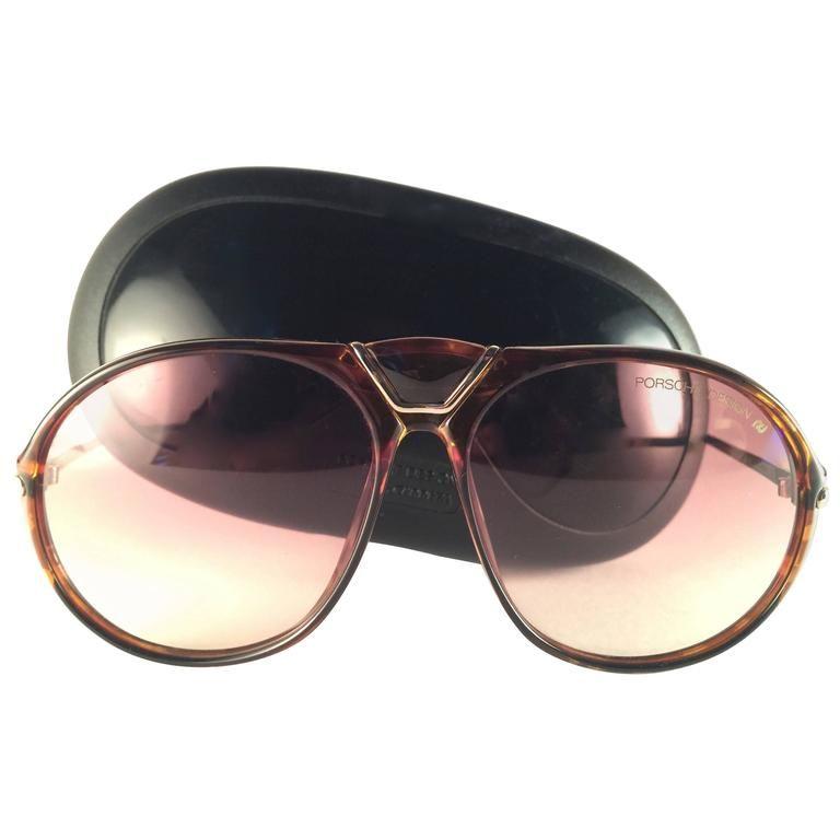 9359a840450 New Vintage Porsche Design By Carrera 5659 Tortoise Medium Sunglasses  Austria 1980