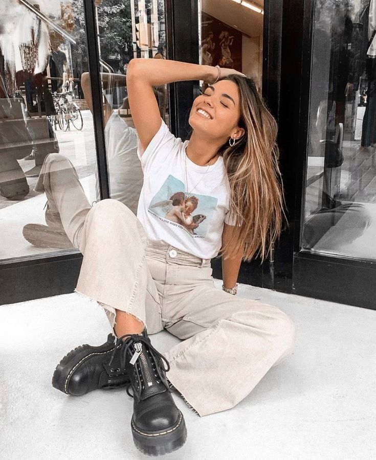Outfits Casuales Juvenil Modacasual Outfitscasuales Spring Outfits Casual Fashion Clothes Women Fashion