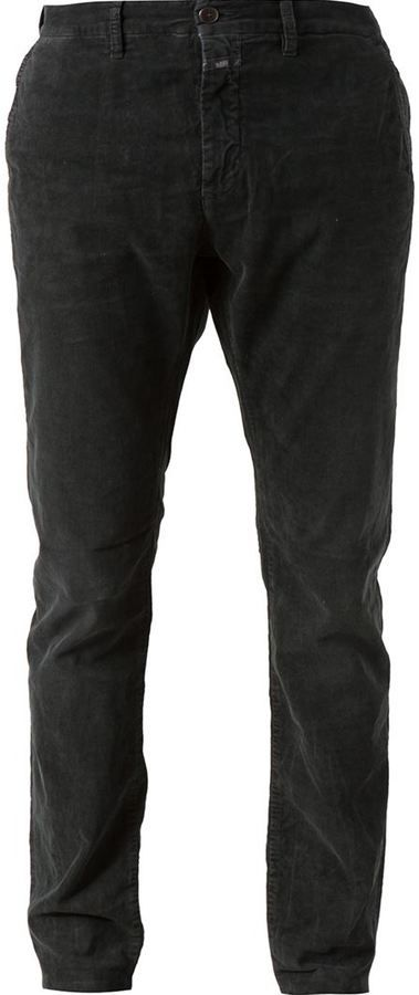 Black Corduroy Jeans by Closed. Buy for $265 from farfetch.com