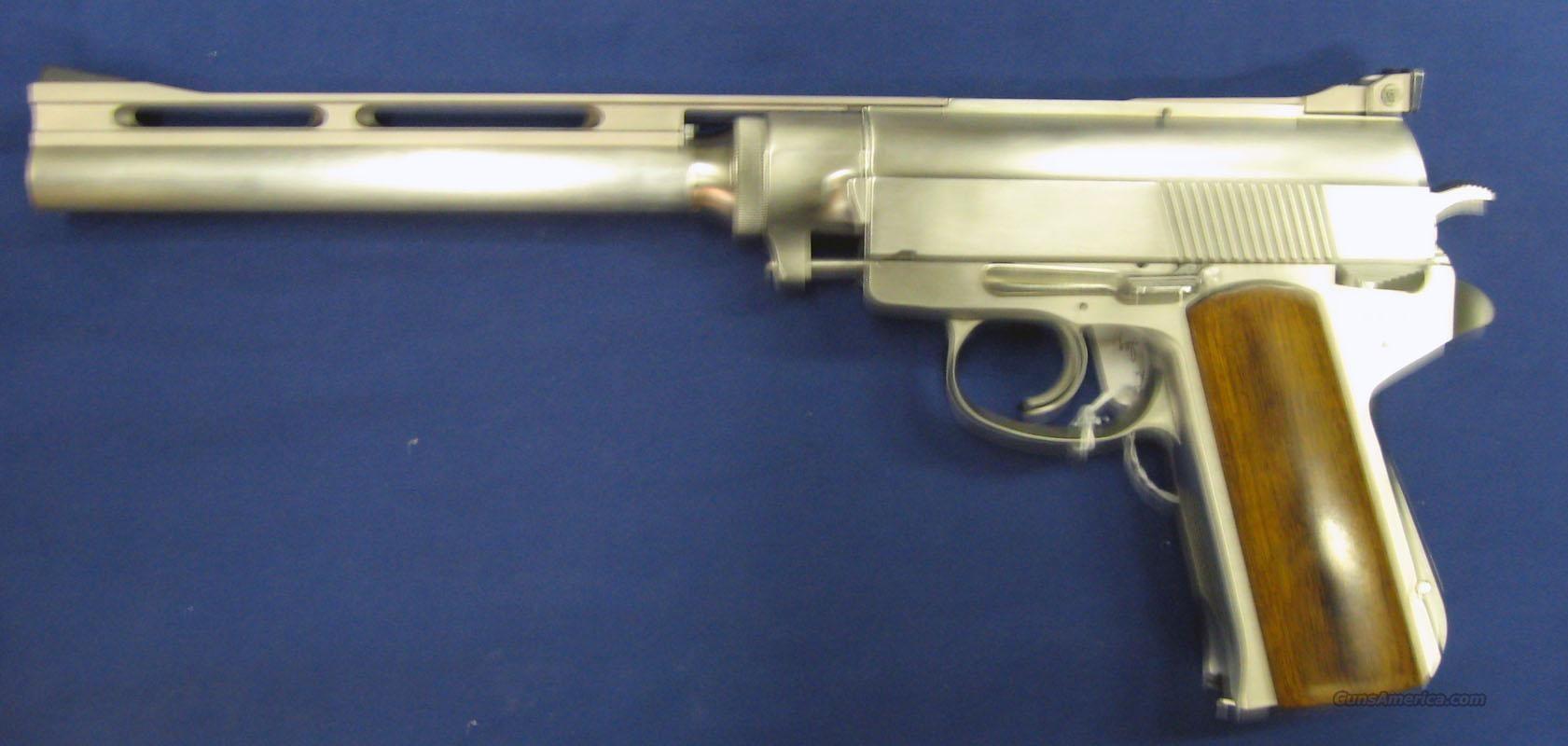 Wildey Hunter Pistol 475 Wildey Mag For Sale Pistol Reloading Dies Magnum