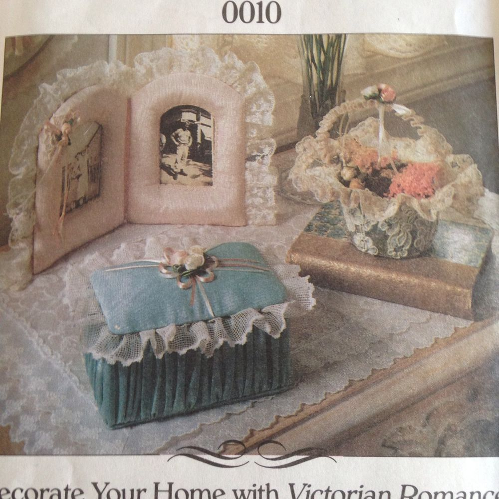 Jan Hagara Cross Stitch Patterns: McCalls Victorian Accessories Pattern