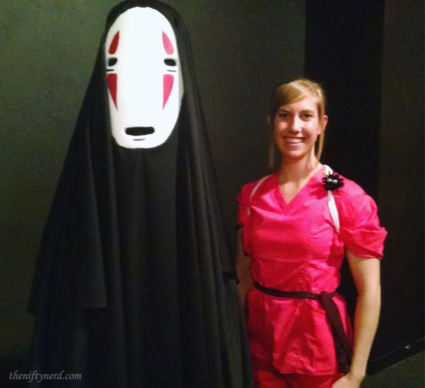 No Face Chihiro Spirited Away Costume Tutorials Spirited Away Costume Costume Tutorial Diy Costumes Kids