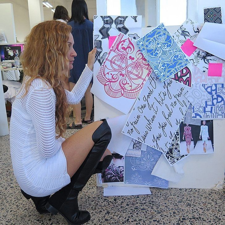 Exclusive: We Go Behind the Scenes of Alice McCall's Studio 3 Days Before Fashion Week - Celebrity Fashion Trends