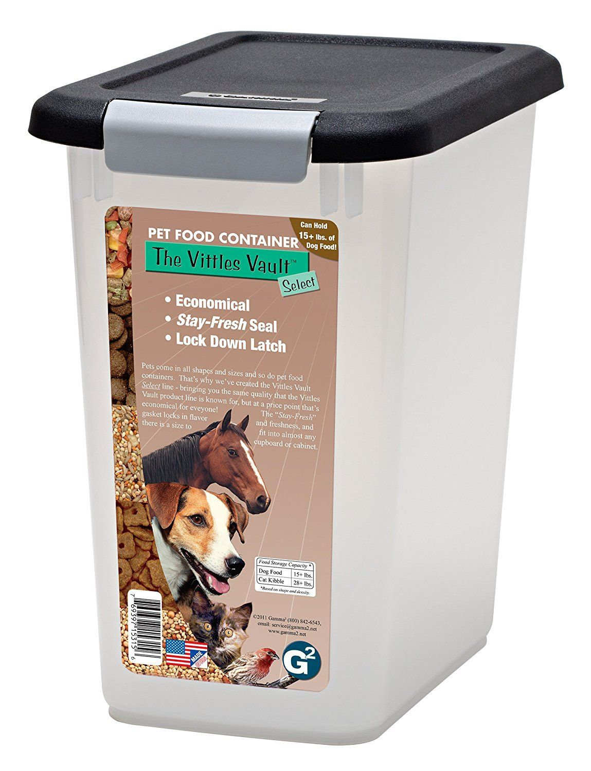 Iris Airtight Pet Food Storage Container Combo Pet Airtight