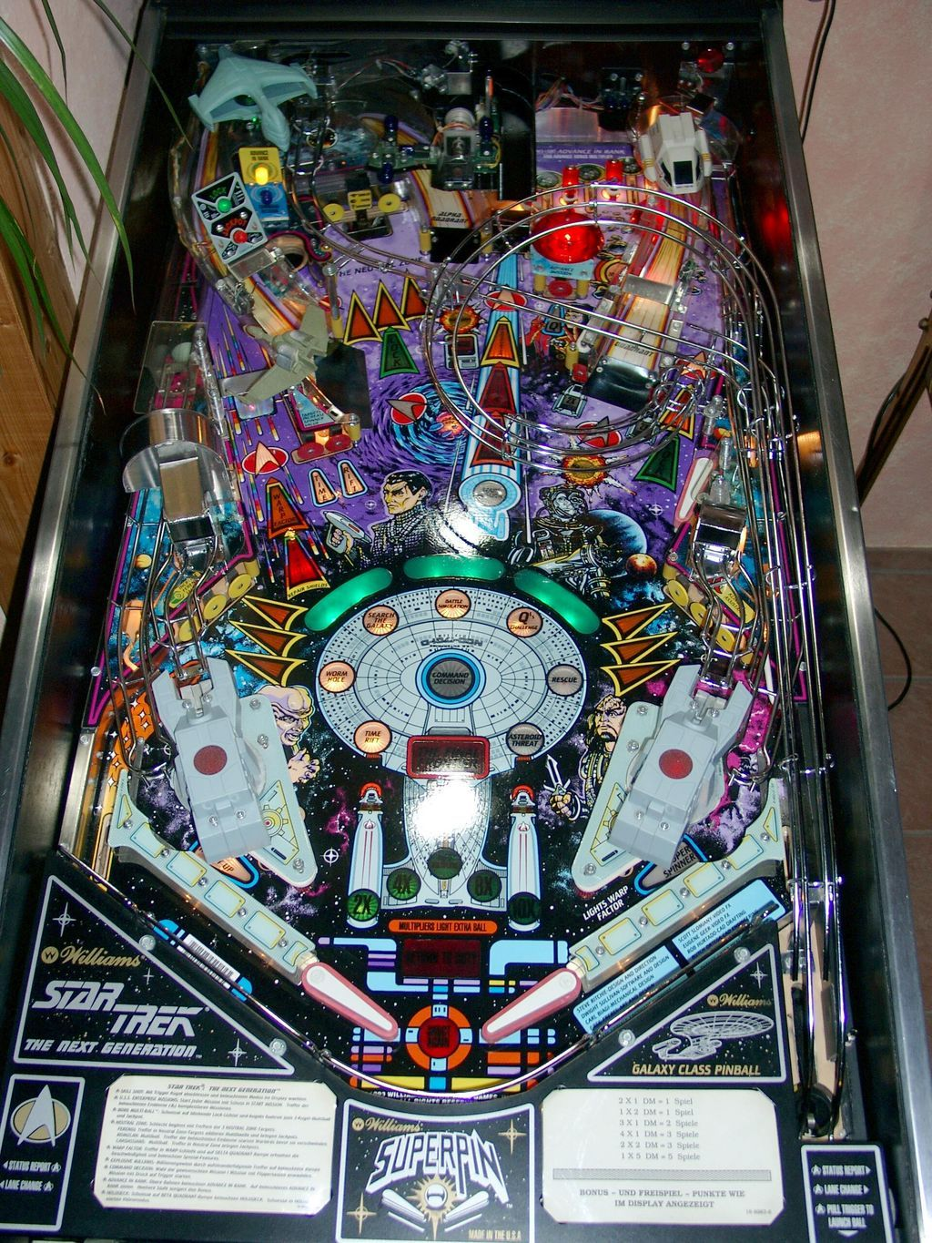 1 - Star Trek: The Next Generation | pinball | Pinball, Pinball