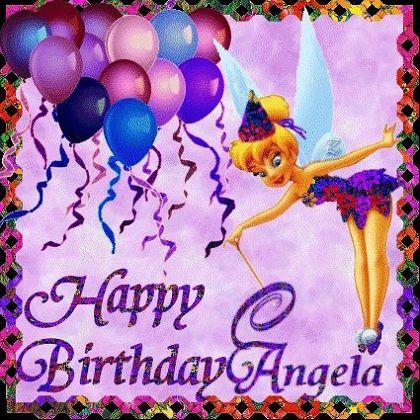 Happy Birthday Angela Meme Funny Gif Cake Images Songs