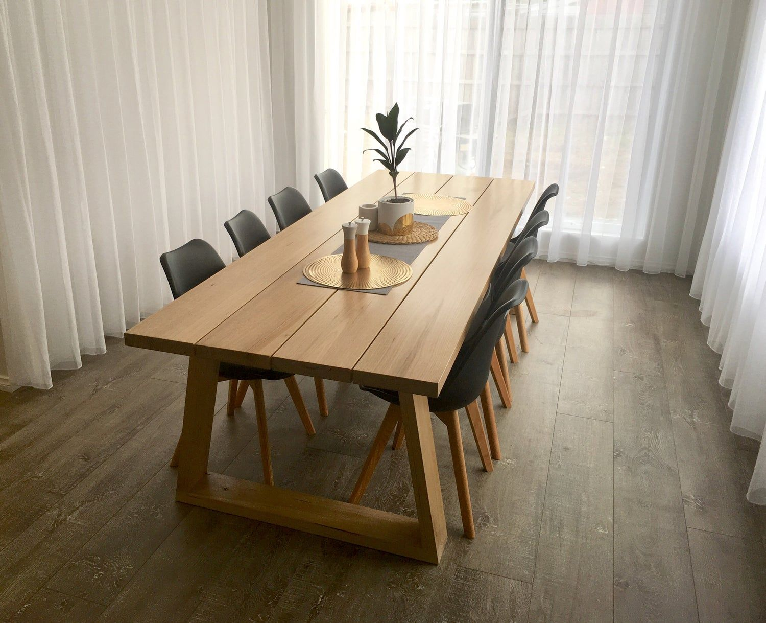 Plank Dining Table Timber Dining Table Ash Dining Tables