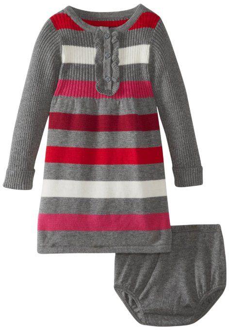 Amazon.com: Nautica Baby-Girls Infant Multi Stripe Dress: Clothing