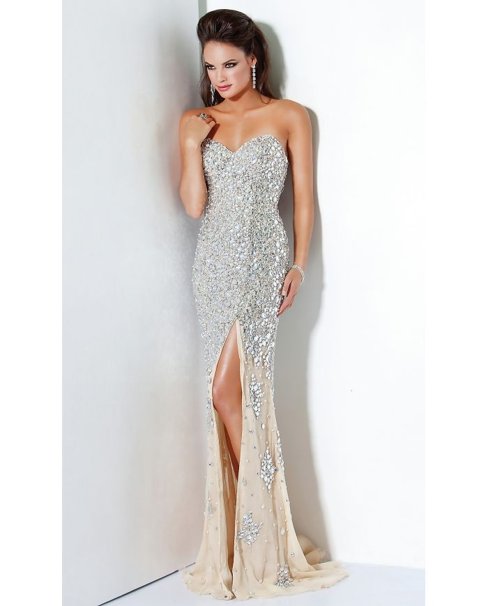 Silver Sequin Prom Dress Photo Album - Reikian