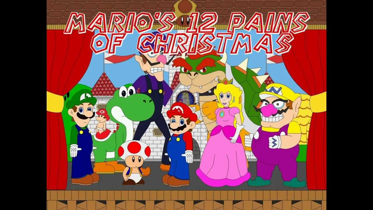 The Twelve Pains Of Christmas.Mario S 12 Pains Of Christmas Health Fitness Mario