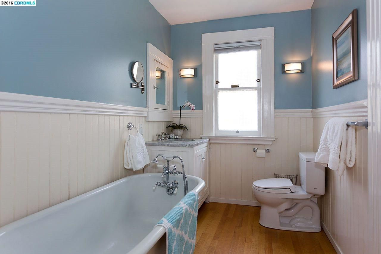 Vintage bathroom with antique clawfoot tub bathroom remodel