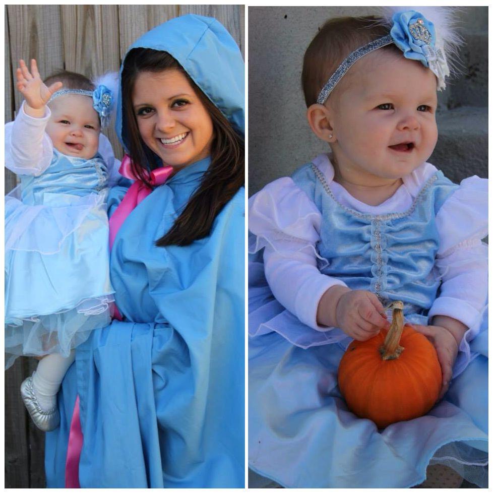 Cinderella And Fairy Godmother Costume Idea Halloween Baby