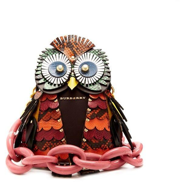 dce4b7b89f54 Burberry Owl snakeskin