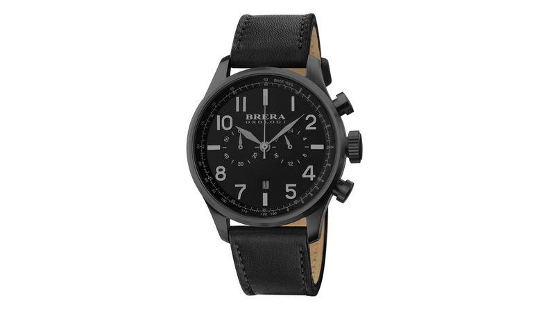 Black Classico Watch| Brera