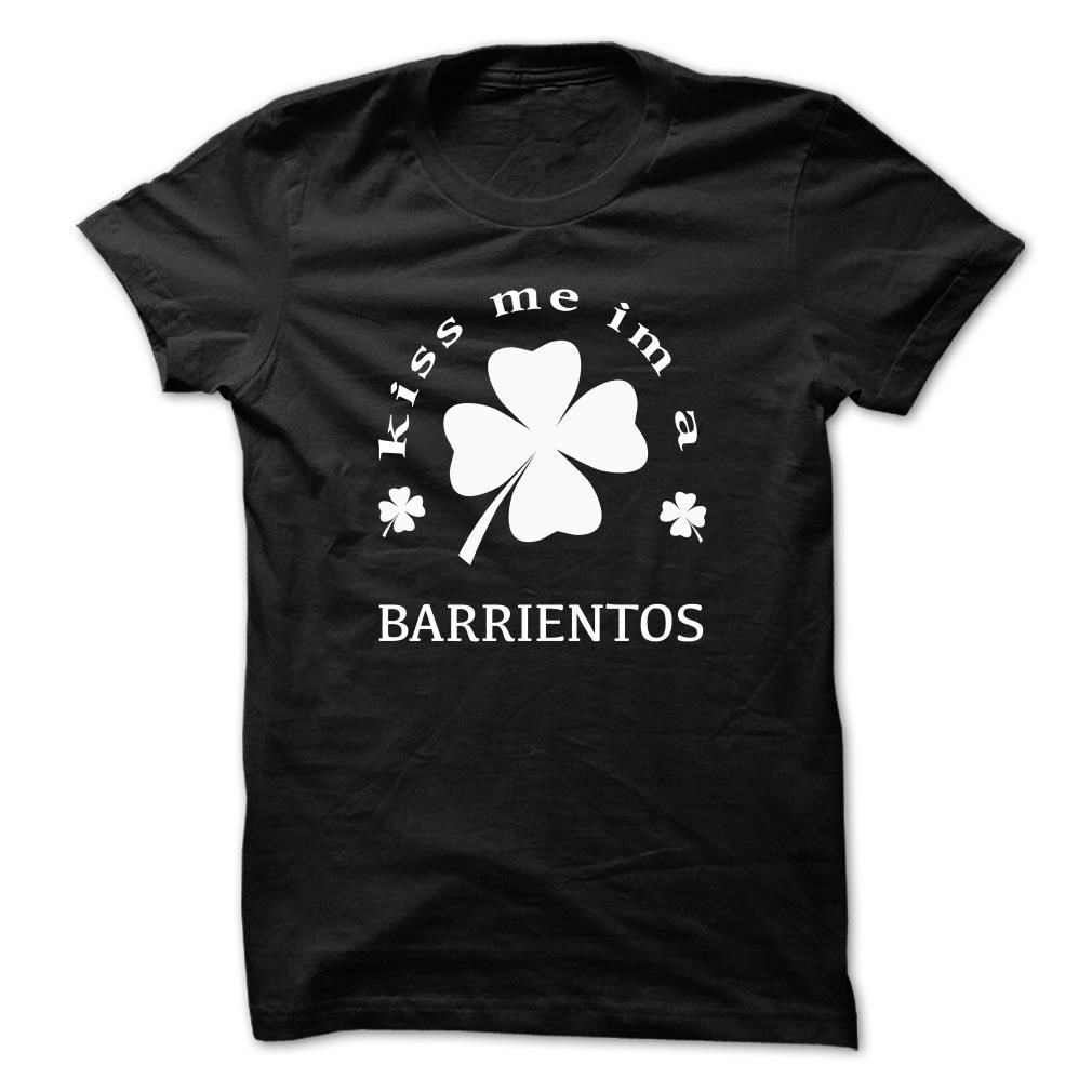 [Top tshirt name origin] Kiss me im a BARRIENTOS  Coupon 5%  Kiss me im a BARRIENTOS  Tshirt Guys Lady Hodie  SHARE and Get Discount Today Order now before we SELL OUT  Camping last name surname tshirt me im a barrientos