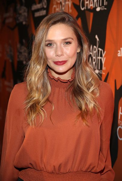 Actress Elizabeth Olsen attends Hilarity for Charity's 5th Annual Los Angeles Variety Show: Seth Rogen's Halloween.