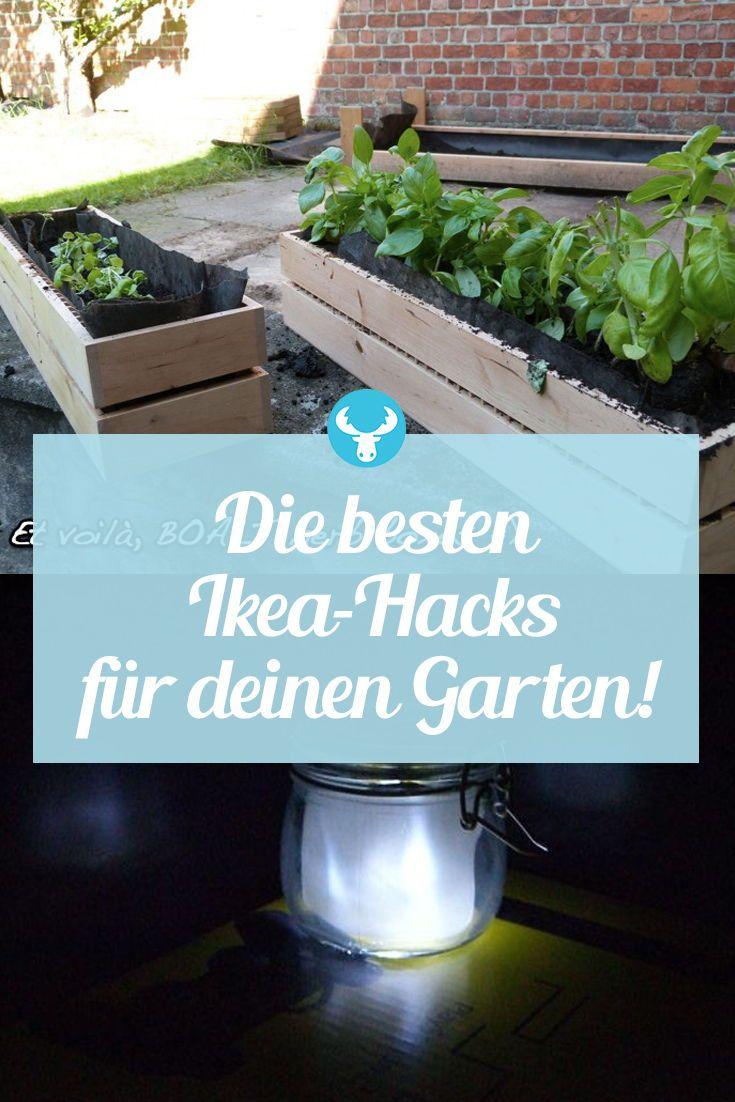 IKEA Hacks für den Garten #sichtschutzterasse