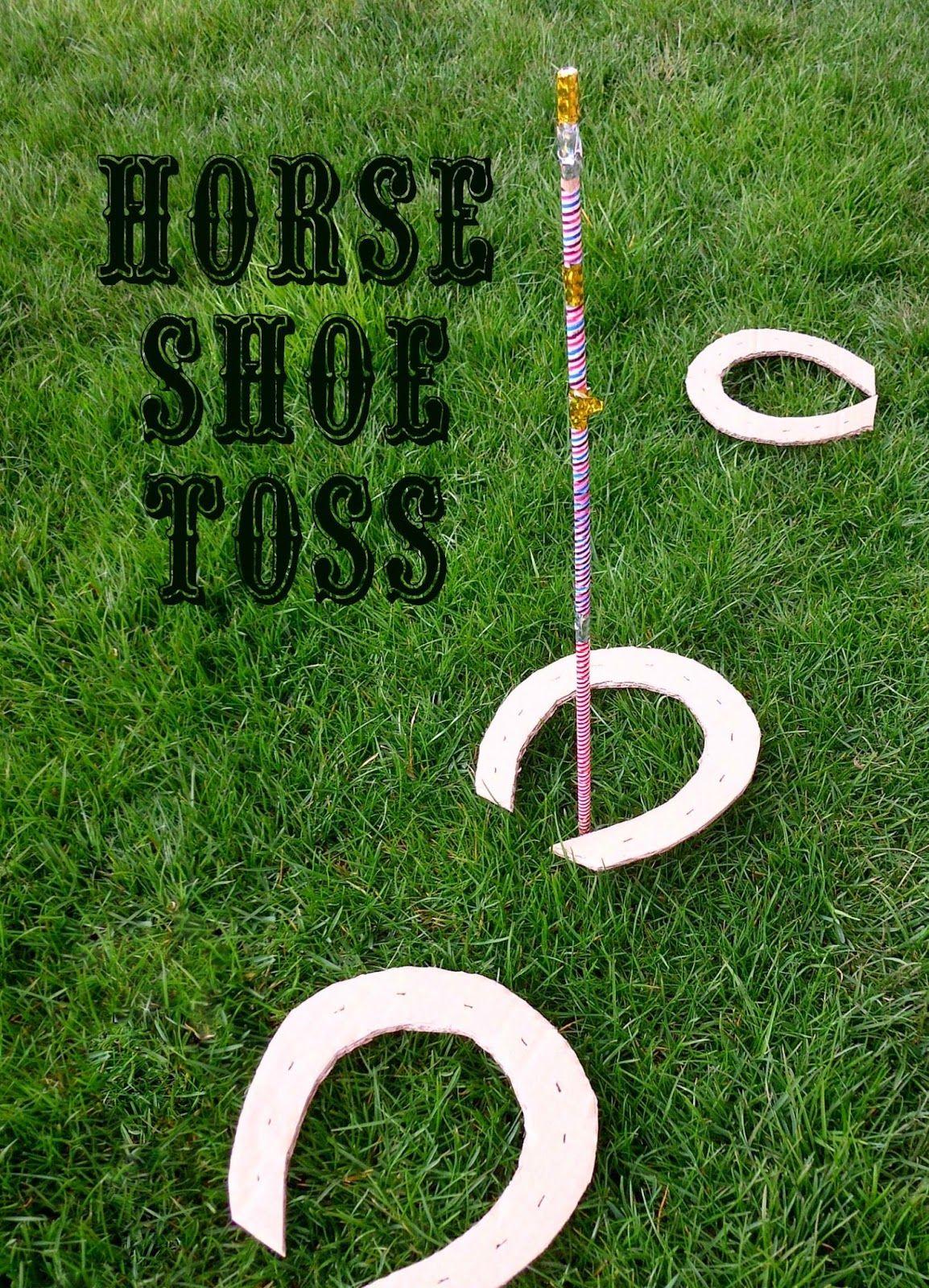 Wild West Horse Shoe Toss
