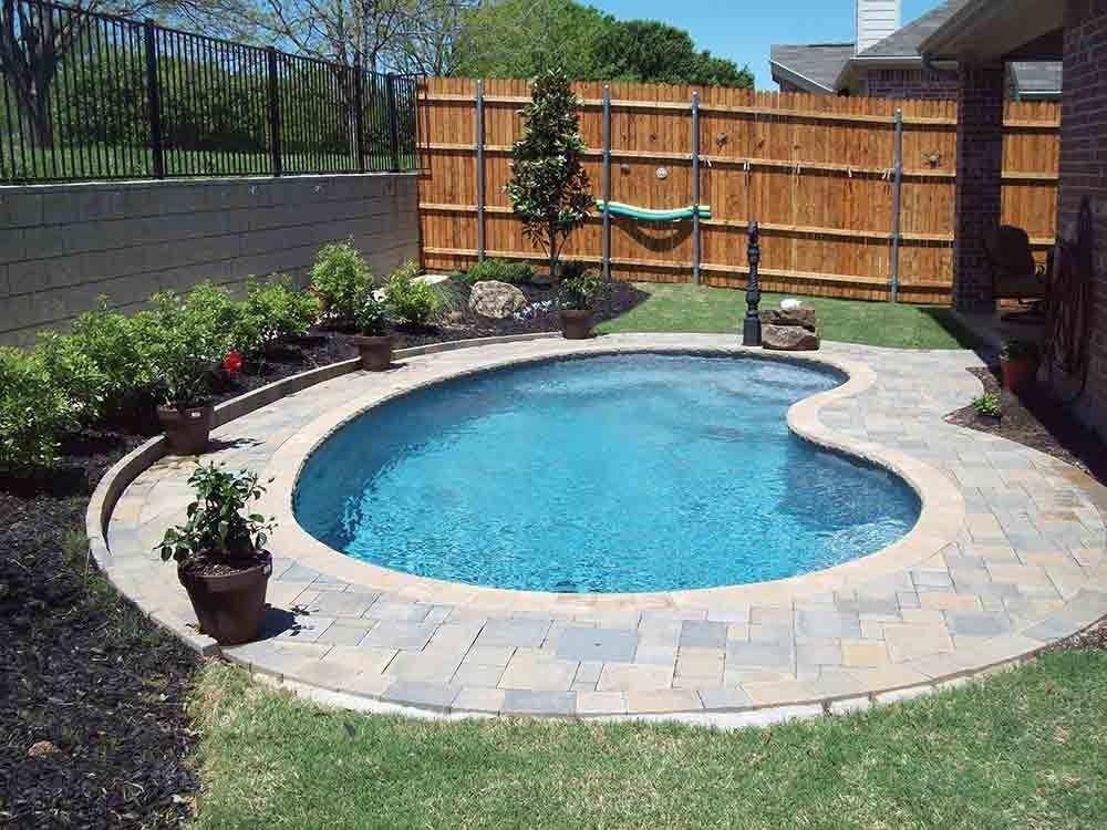 Solstice Kidney Fiberglass Pool Small Inground Pool Fiberglass