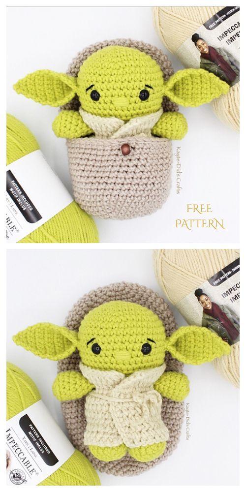 Crochet Hatching Alien Amigurumi Free Pattern - DIY Magazine