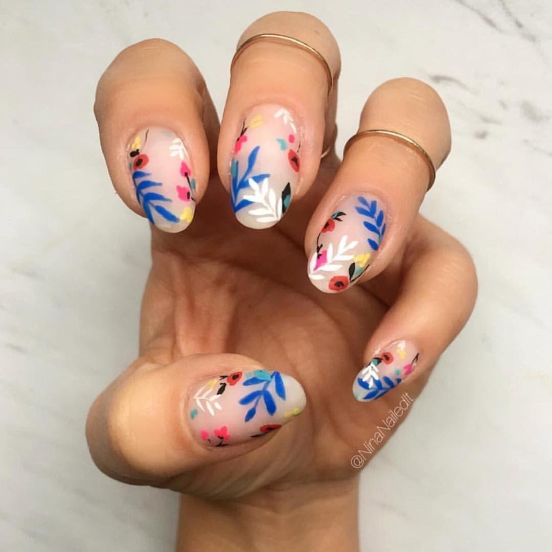 21 Fresh Negative Space Nail Ideas For Summer Negative Space Nails Space Nails Wedding Day Nails