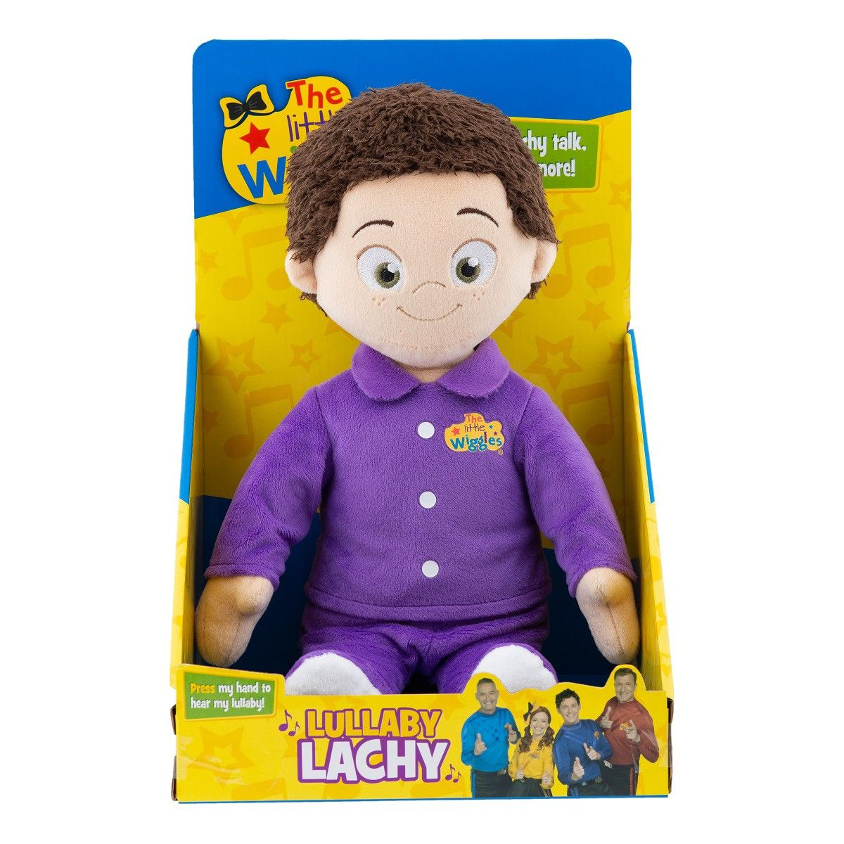 The Wiggles Lullaby Lachy The wiggles