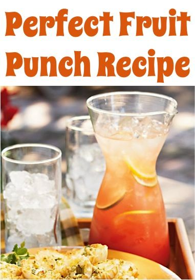 how to make punch drink