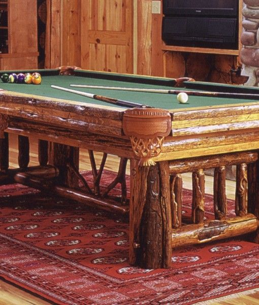 Rustic And Western Pool Tables And Game Tables Pool Table