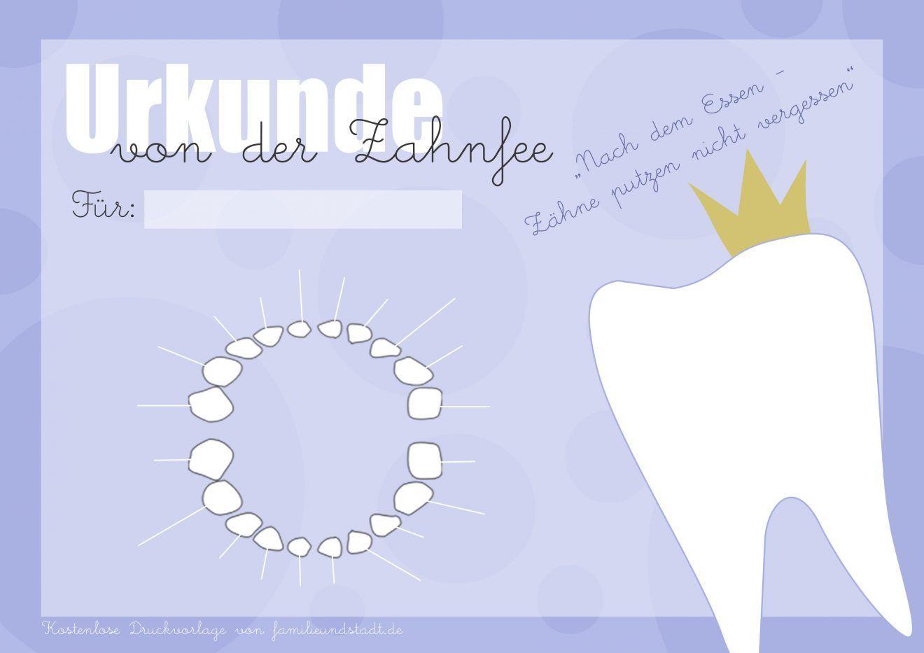 Erfreut Zahnfee Zertifikatvorlage Bilder - zertifizierungsstelle ...
