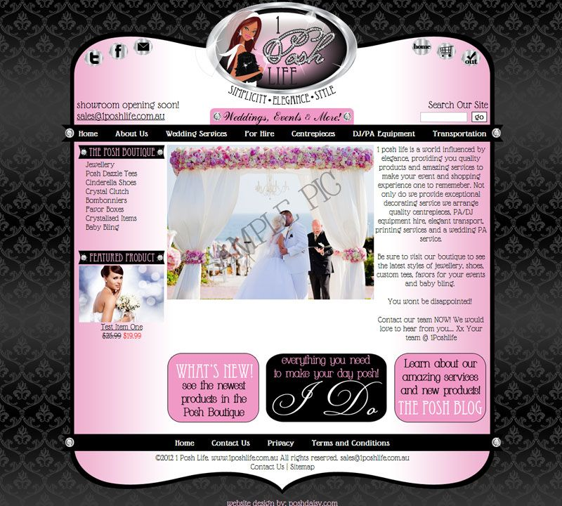 Glamorous Web Design | Cute Websites and Website Templates ...