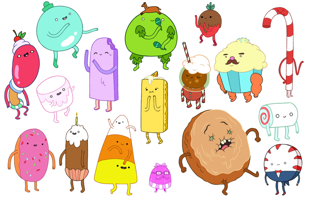 Candy People Adventure Time Drawings Adventure Time Princesses