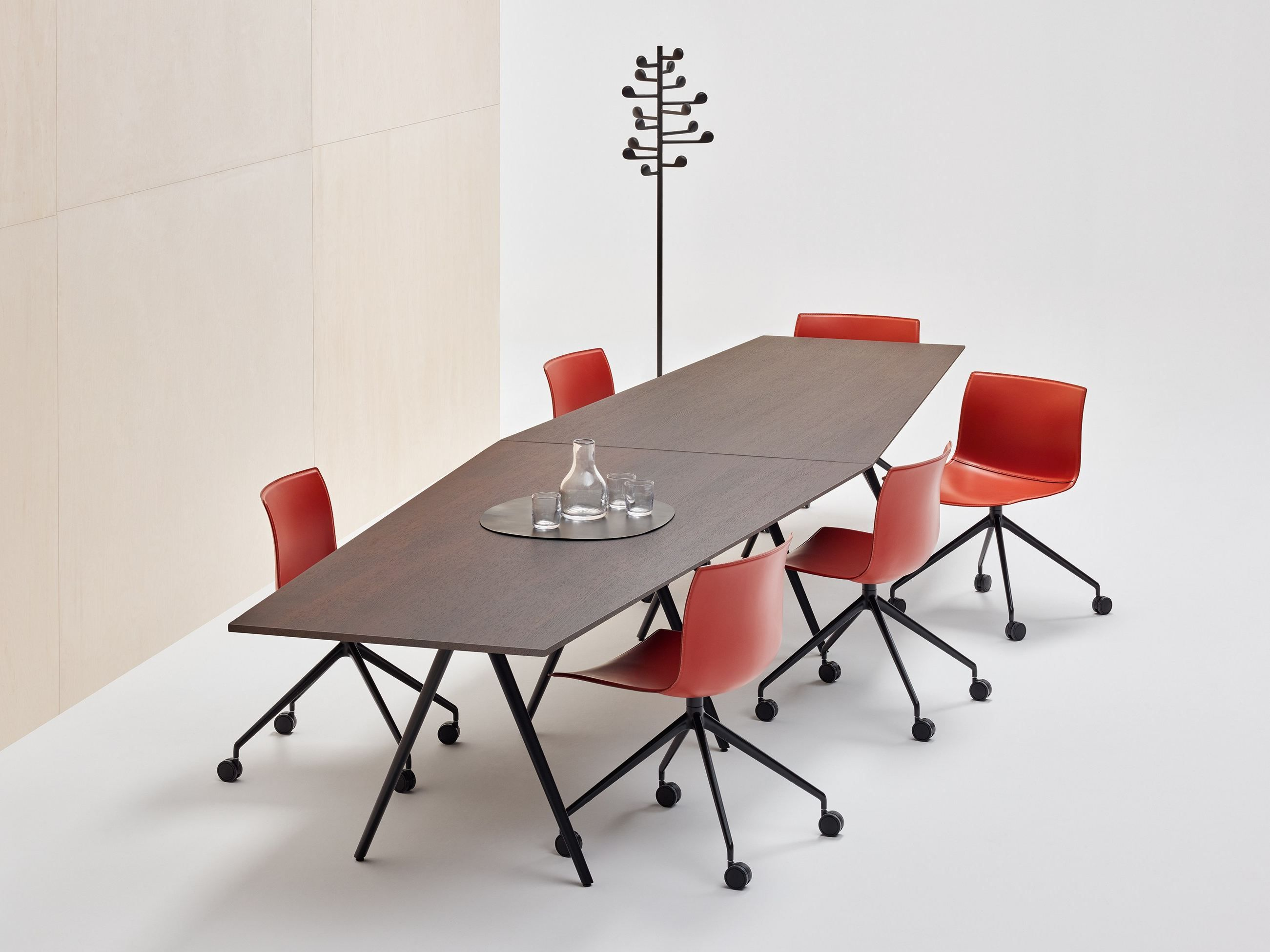 Tavolo Arper ~ Modular meeting table meety meeting table arper table