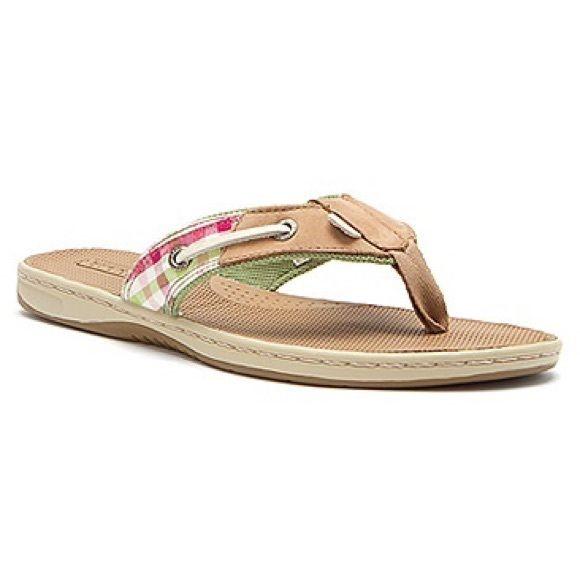 Sperry® Seafish Linen Stripe Sandal wOGCC3fMp
