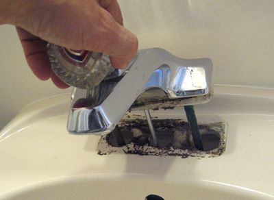 Replace Sink Faucet Bathroom. how to remove an old bathroom faucet ...