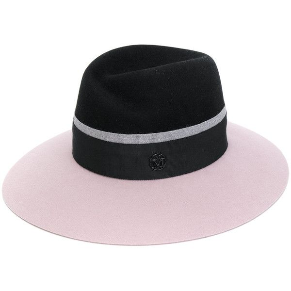 Two-tone Virginie Hat - Black Maison Michel GctQfA